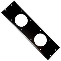 Cases, Racks & Taschen Rackblende 3he Schwarz Pro-audio Equipment