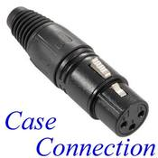 XLR-female Stecker - 3polig # Adam Hall